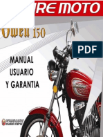 Manual de Usuario Owen 150 2010