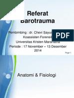Referat Barotrauma 2