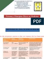 4-Persona y Principios Éticos en Medicina