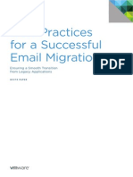 VWare Best Practices for a Successful Email Migration White Paper