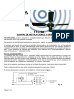 MANUAL Instructivo de Ventiladores de Techo VT000