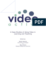 6 Case Studies of Using Video in Learning and Teaching