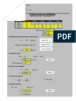Dosificación Método Aci 211.1