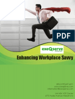 Enhancing Workplace Savvy