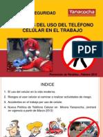 02-Febrero - Charla de Seguridad -Peligros del uso de telefono celular en el trabajo (2).pptx