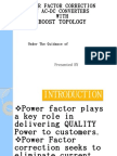 POWER FACTOR CORRECTION IN AC-DC CONVERTERS WITH BOOST TOPOLOGY