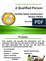 Scaffold Qualified