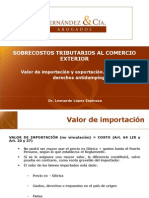 manual de valor de importacion
