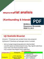 3. Konsep Multivariat, Confounding, & Interaksi (+Stata)