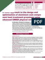 Aluminium Heat Treatment