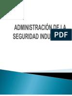 Administración de La Seguridad Industrial