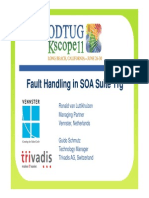 Fault Handling in Service Oriented Architecture