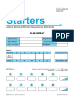 Indian Abacus Starters Question Paper_1st Level _ Free