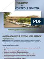 DIGITAL DC DRIVES & SYSTEMS UPTO 5000 KW