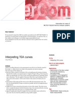 DT_USERCOM, Interpreting TGA Curves