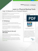 Veeam Backup Replication vs Legacy Backup Tools