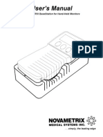 Novametrix Base Station - User Manual