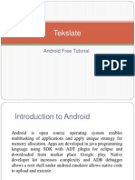 Android Free Tutorial