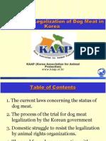 Korea Dog Meat Legalization