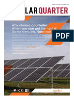 SolarQuarter October 2014 Vol3 Issue10