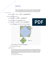 Shape Area Perimeter Formulas
