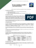 Practica Lixiviacion de Un Mineral de Cobre y Electrodeposicion