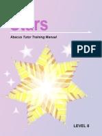 Indian Abacus Stars Tutor Training Manual_8th Level - free