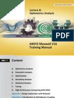 Maxwell v16 L08 Optimetrics