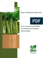 Eng Semi-manufactured Bamboo for Exterior and Interior Applications 07-05-2014