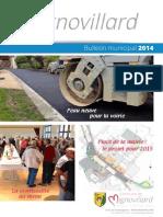 Mignovillard - Bulletin municipal 2014