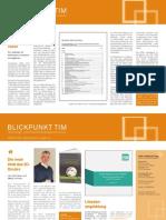 TIM Newsletter Dezember 2014