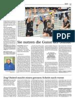 VBC Steinhausen - FC Luzern