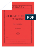 24 Legato Studies (Vocalises for Trombone)