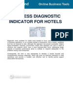 Business Diagnostic Indicator for Hotels