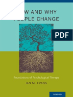 How and why people change