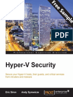 9781782175490_Hyper-V_Security_Sample_Chapter