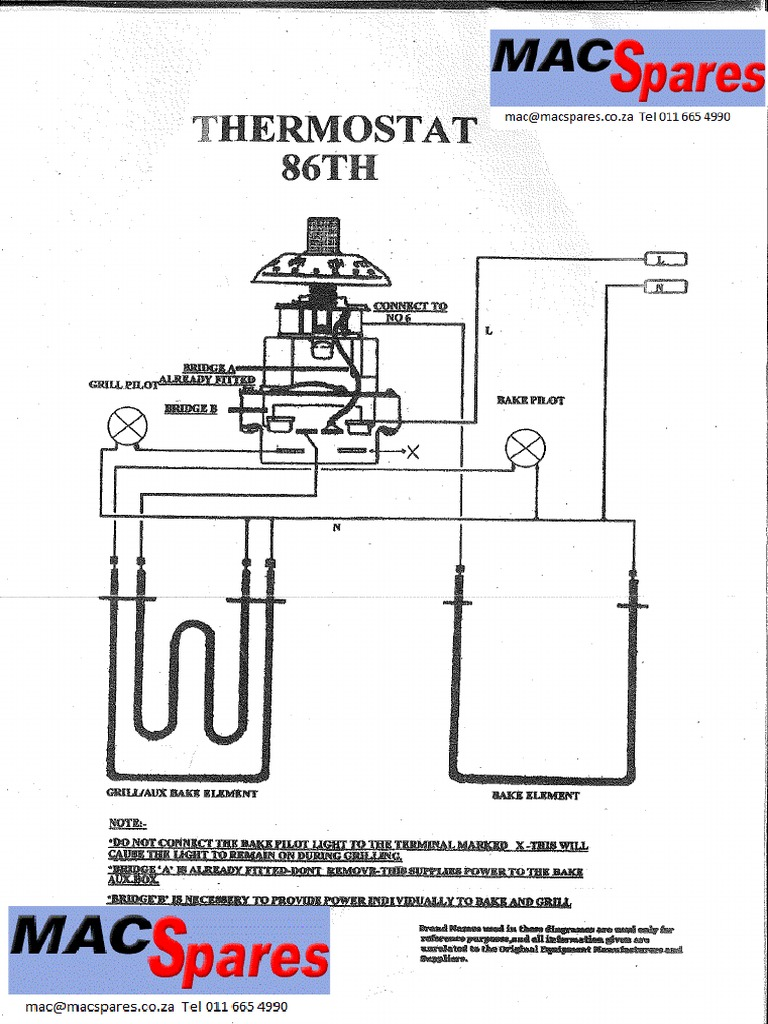 Thermostat 86 Th Wiring Diagram Pdf