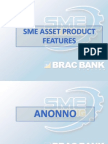 SME Asset Product Features