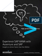 Experience SAP HANA With Accenture and SAP