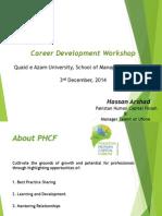 Presentation - Career Development Workshop