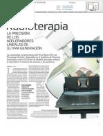 Innovación en radioterapia y beneficio sobre los tumores
