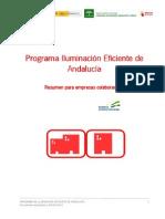 Programa de Iluminacion Eficiente de Andalucia