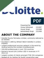 Deloitte Rediff