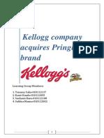 Kellogg Company Acquires Pringles Brand