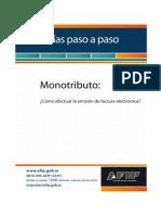 Mono Factura Electronica Paso a Paso