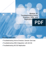 10-troubleshooting-active-directory-dns-and-replication-issues.ppt