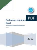 Problemas Comunes en Excel