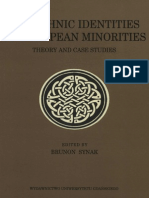 The Ethnic Identities of European Minorities