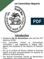 Narasimham Committee Reports