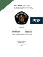 Manajemen Strategi Toyota